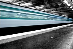 Metro Concorde long expo (gauvin,pictures) Tags: paris france underground long exposure metro concorde filé