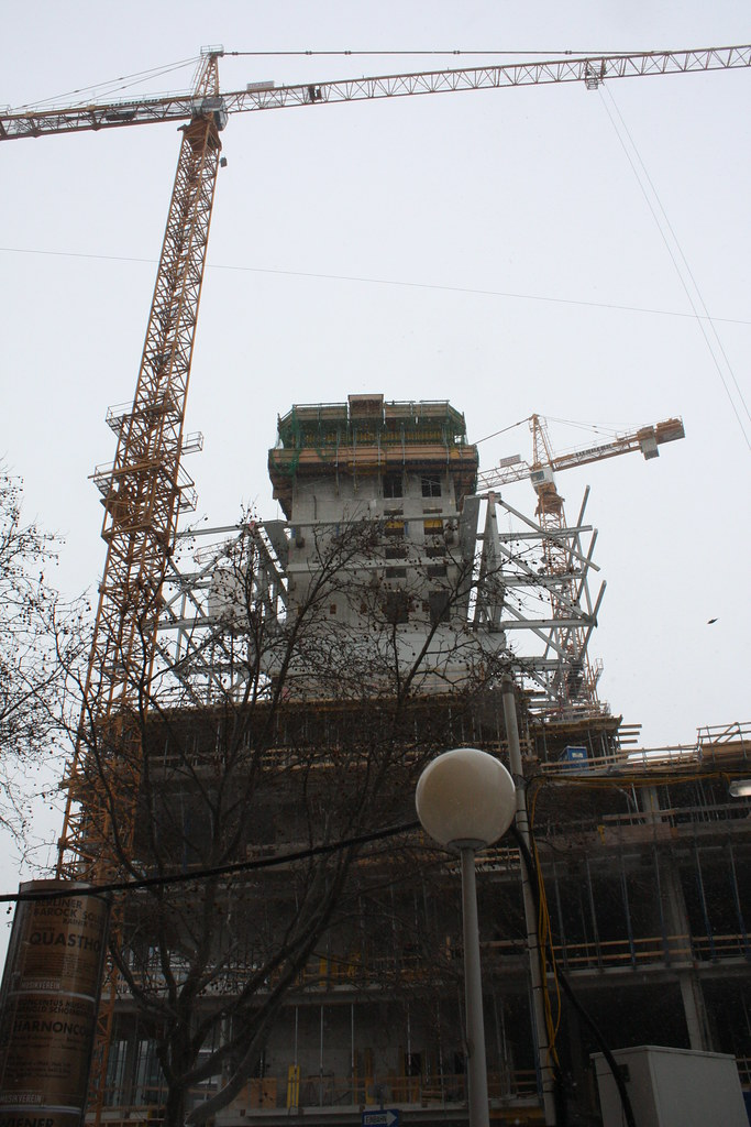 Unsere grösste Hürde: die Baustelle