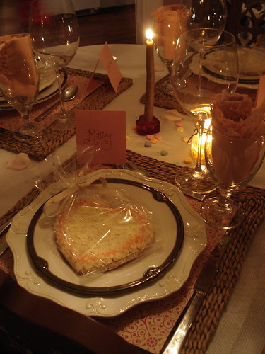 Tablesetting : Dinner Club February
