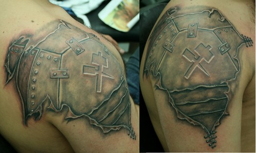 shield tattoo