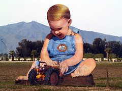 Giant Baby (joecrowaz) Tags: arizona baby field giant