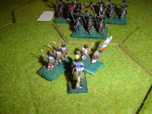 D'Erlon holds out against Prussian lancers