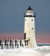 Winter Lighthouse (madisonprincipal) Tags: soe aplusphoto overtheexcellence