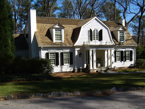 Comcolonial Design Homes : The Old Post Road: Dutch Colonial
