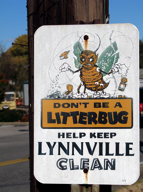 Help keep Lynnville Clean