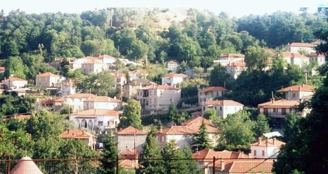 Δυτική Μακεδονία - Κοζάνη - Δήμος Τσοτιλίου Μερική άποψη του Αυγερινού από το σχολείο