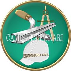 simbolo engenharia civil viga compasso capacete