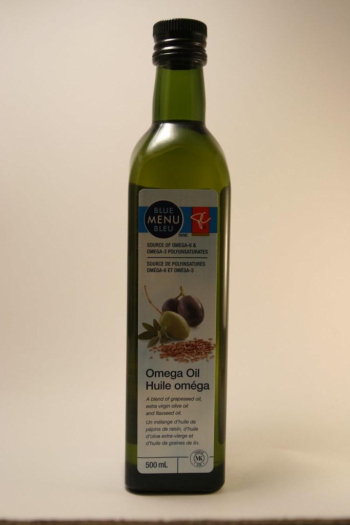 Blue Menu omega oil