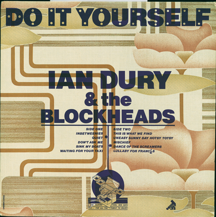 Front Cover, Do It Yourself, Ian Dury & The Blockheads, 1979.