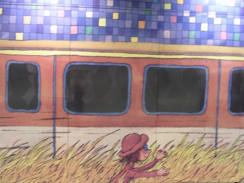南港捷運-幾米畫作