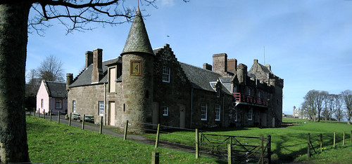 Hunterston castle 17Mar09