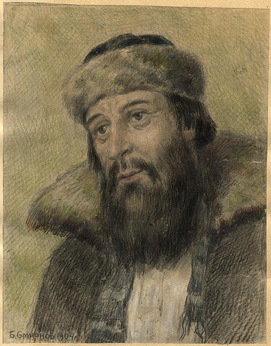 011- Comerciante antiguo creyente- Boris Smirnov 1904