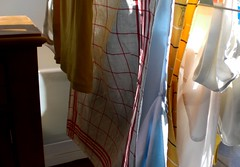 Serious drying by the window (Cozy Memories) Tags: home indoors housework laundry domesticity drying