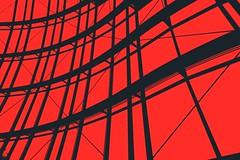 Steel Waves (Heaven`s Gate (John)) Tags: uk red england black art silhouette architecture photoshop newcastle waves steel centre creative dramatic sage gateshead imagination effect soe sagecentre supershot 10faves bronly johndalkin heavensgatejohn steelwaves top20red