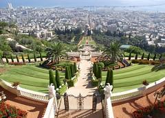 Haifa Bahia Garden (Werner Kunz) Tags: trip travel vacation holiday photoshop lens israel nikon urlaub getty ultrawide werner reise gettyimage kunz aplusphoto nikond40x werkunz1