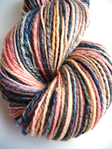 Girl with pearl Earring, 229yds, navajo plied, Corriedale by Electric Sheep Fibers-7