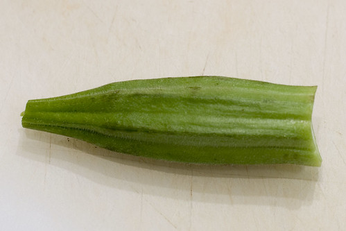 Properly Trimmed Okra