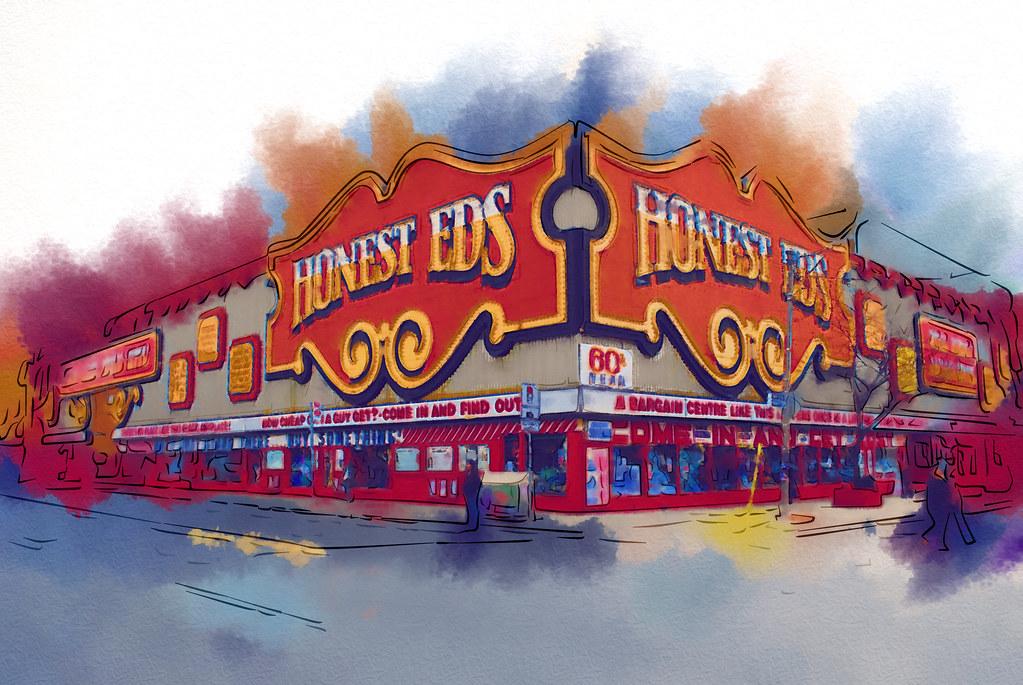 Honest Ed's - A Toronto Landmark