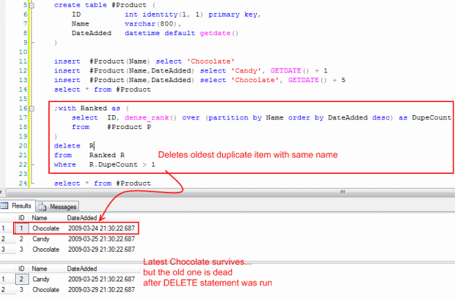 Sql Server How Can I Find Duplicate Entries And Delete