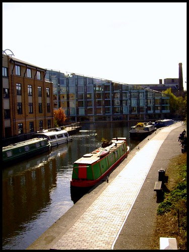 Regents Canal - City Road to Islington