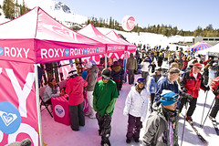 Check out the Roxy Demo Tent at in the Village (Official Roxy Photos) Tags: winter dog mountain hot cold chicken sports sarah kids fun snowboarding mercedes concert war village ride extreme lisa competition ticket mascot mammoth clark cheryl kelly todd raccoon roxy maas jam richards conrad 2009 kjersti woolly ttr superpipe slopestyle wiik nicoll buaas santigold