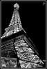 desert eiffel at night (fensterbme) Tags: bw paris blackwhite interestingness lasvegas eiffeltower wideangle ballys canon35mm primelens fauxeiffeltower interestingness402 i500 wppi canon35mmf14l canonprimelens fenstermacherphotography columbusohiophotographer explore30mar09