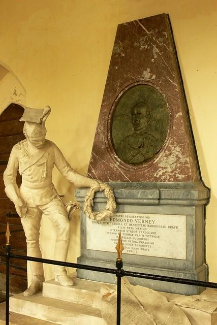 Edmund Verney Monument