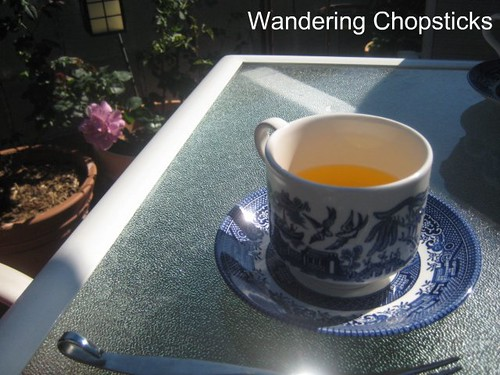 Afternoon Tea in the Garden with Portland from Glendora and Angel Face Roses 5