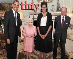 Wee Queen... (MyEyeSees) Tags: president queen obama queenelizabeth barackobama g20 michelleobama
