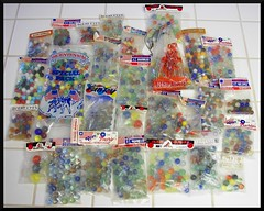 Bags of Marbles (Dusty_73) Tags: original glass vintage toys memories champion collection packaging americana shooter bags marble collectible catseye peltier mibs marbleking vitroagate
