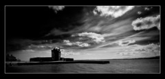 Broughty Ferry Castle Infrared (Envisaged) Tags: uk sea sky bw white black castle monochrome ferry clouds landscape gold scotland broughtyferry dundee competition winner infrared merit broughty monthly broughtyferrycastle monthlycompetition swppmonthlycompetition swppmonthlycompetitiongoldmeritwinnerjune2009 goldmeritwinner