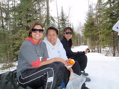March Cheerleader Trip (BowdoinCollege) Tags: camp snow ski club maine hut outing bowdoin
