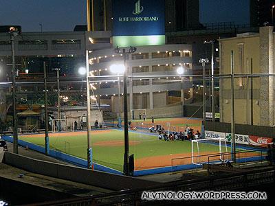 Baseball park at Harborland