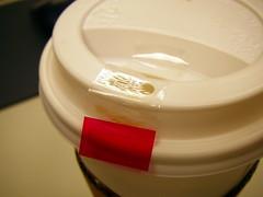咖啡杯封口膠帶