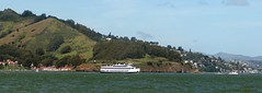 Hornblower ferry (thamiter) Tags: panorama northerncalifornia ferry goldengate sanfranciscobay sausalito marinheadlands fortbaker hornblower