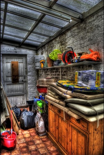 My Grubby Outhouse HDR