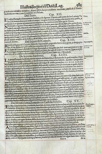 020- Ejemplo de tratamiento de algunos venenos-Pedacio Dioscorides Anazarbeo 1555