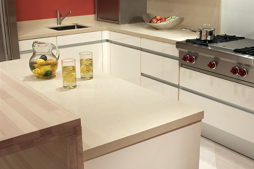Quartz Countertop in Baja by CaesarStone
