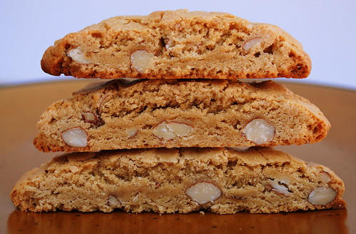 Almond Slices stacked