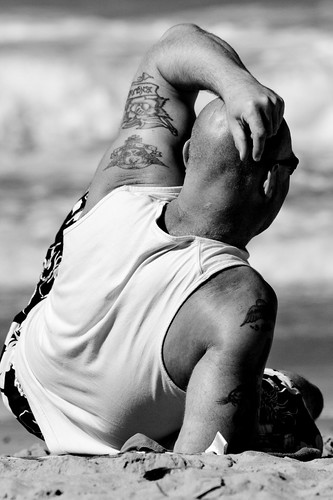 The man with the tatts