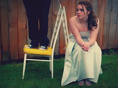 going to prom (Evil Erin) Tags: grass cheese fence jesse necklace highschool prom converse tessa chucks rubberboots chucktaylors promdress ilovelamp ilovethesechairs promsuit promshoes promhair awesomechairs omgprom superamazingchairs