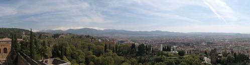 Sierra Nevada from Alhambra
