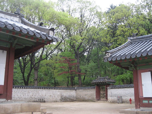 At Jongmywo, Gwanghwamun