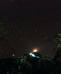 109 - Starry Night at Adam's Peak, which we hiked to the top of in time for sunrise