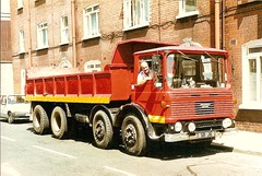 An AEC Mammoth Major and its happy owner -581JIK (ekawrecker) Tags: ireland dublin oreilly pat eire townsendstreet macadam dundrum treacy sandyford