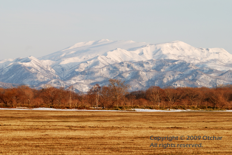 Shiretoko Mountains