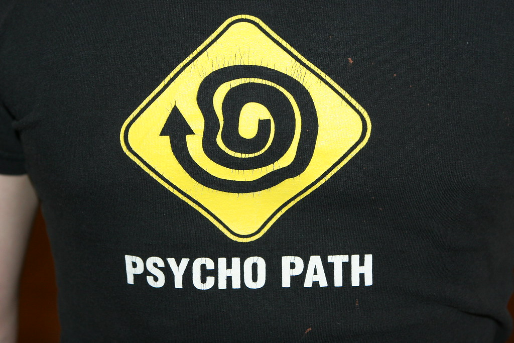 Funny t-shirt - Psycho Path