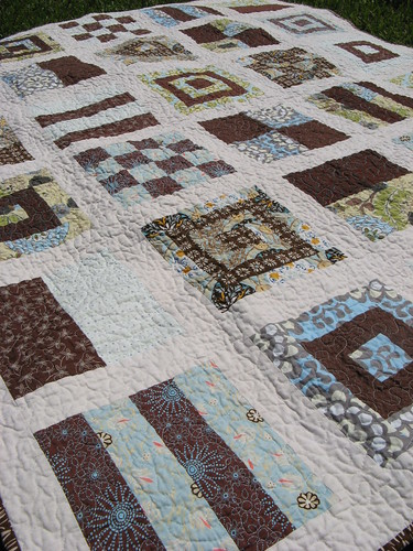 Mod Sampler Quilt Along Detail