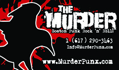 The Murder - Business Card