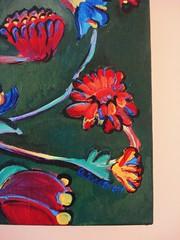 . . . (On Bradstreet) Tags: flowers painting acrylic whimsical paintedflowers thinkingaboutthegarden